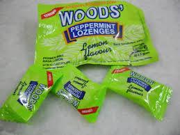 Ubat Batuk Wood's Peppermint Lozenges Candy