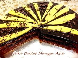 Kek Coklat Moist Mangga