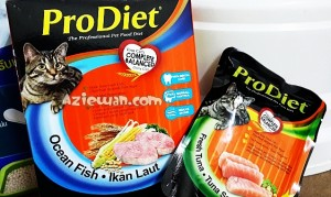 Makanan Kucing Pro Diet